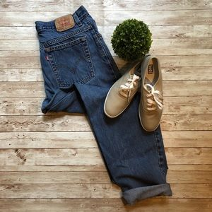 Levi's 550 Relaxed Tapered High Waisted Mom Jeans